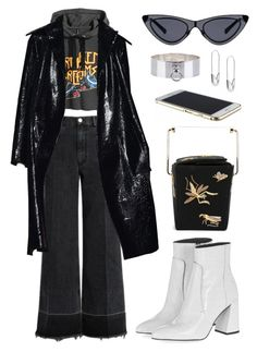 """""""Untitled #537"""" by mimiih ❤ liked on Polyvore featuring Rachel Comey, Topshop, Charlotte Olympia, Tom Binns, Betony Vernon, topshop, CharlotteOlympia, muimui and rachelcomey"""