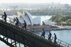 What You Should Know Before Visiting These 31 Popular Travel Destinations Photos Harbor Bridge, Sydney Harbour Bridge, Tour Around The World, Around The Worlds, Travel Tours, Travel Destinations, Adventure Travel, Climbing, Trip Advisor