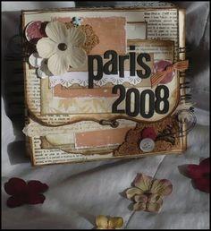 scrap in the sky: Paris Mini Album