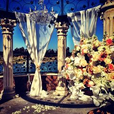 Ceremony decor #decor #flowers #classic #weddings #brides #bridal