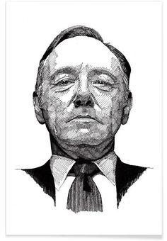 Frank en Affiche premium par RikReimert   JUNIQE