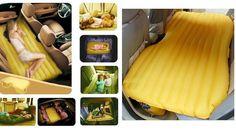 Inflatable car mattress
