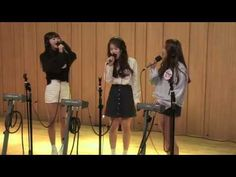 151011 Oh My Girl (Hyojung, Seunghee, YooA) - Halo Cover @ Cultwoo Show