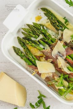 Prosciutto, Street Food, Asparagus, Food And Drink, Vegetables, Cooking, Fitness, Recipes, Kitchen