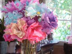 Coffee Filter Flowers from DIYnetwork.com