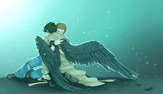 The army doctor and the fallen angel. They save each other. Sherlock BBC.