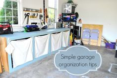 ideas to organize the garage @cleverlyinspired (3)cv