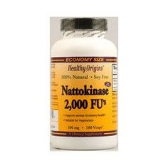 Healthy Origins Nattokinase 2000 FUs 100 mg (1x180 Vcaps)