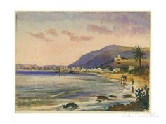 Haifa with Carmel Ridge Behind Giclee Print by Claude Conder at AllPosters.com
