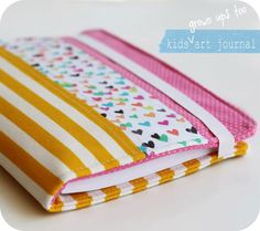 Free Sewing Pattern and Tutorial - Art Journal