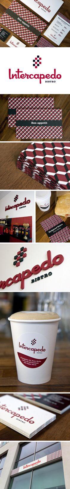 Intercapedo Bistro | #stationary #corporate #design #corporatedesign #logo #identity #branding #marketing <<< repinned by an #advertising agency from #Hamburg / #Germany - www.BlickeDeeler.de | Follow us on www.facebook.com/BlickeDeeler