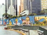 Brasilian graffiti / artist: The twins (Os gêmeos) / Sao Paulo