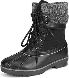 16 Styles of chic and affordable winter boots for women that are perfect for your winter outfits  DREAM PAIRS Women's Mid Calf Winter Snow Boots Snow Boots Women, Winter Snow Boots, Fashion Boots, Sneakers Fashion, Stylish Shoes For Women, Cold Weather Boots, Warm Boots, Cute Winter Outfits