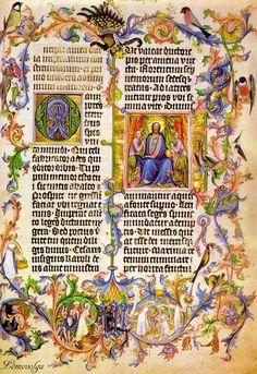 Medieval manuscript. Beautiful pages of books. Обсуждение на LiveInternet…