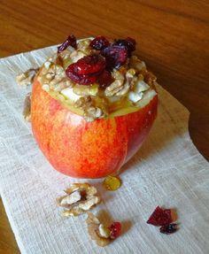 Eetlust!: Appel uit de oven met brie, walnoten, cranberries ...