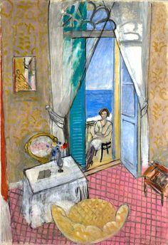 Henri Matisse French, 1869–1954 Interior at Nice, 1919 or 1920