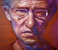 Man with glasses by Caktus