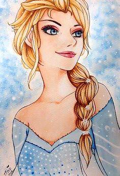 Elsa by Krystal89IT.deviantart.com on @DeviantArt