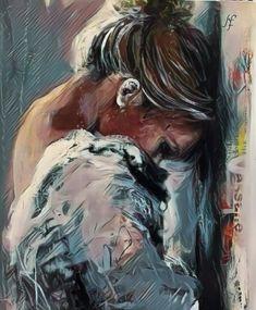Art Sketches, Art Drawings, Yoga Art, Portrait Art, Beautiful Paintings, Female Art, Cute Art, Art Girl, Amazing Art