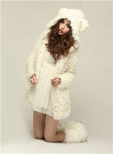 New Autumn Winter Warm Women Hoodie Coat Jacket Teddy Bear Rabbit Ears Thick Soft Fleece Fur Sweatshirt Hooded Long Teddy Bear Jacket, Bear Coat, Coats For Women, Jackets For Women, Shop Jackets, Mantel Beige, Bear Ears, Jackett, Gyaru
