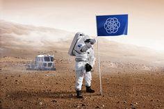 Et si la planete terre avait un drapeau