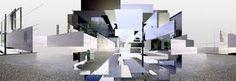 Resultado de imagen para collage arquitectura mies van der rohe