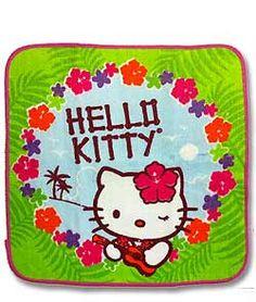 Hello Kitty Face Towel   Ukulele Kitty
