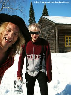 The Dudesons. South Ostrobothnia province of Western Finland. Nature Animals, Finland, Westerns, Bomber Jacket, Hipster, Boys, Jackets, Style, Fashion