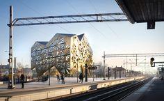 """Gallery of Utopia Arkitekter's """"Jewel"""" Selected in Uppsala Travel Centre Contest - 5"""