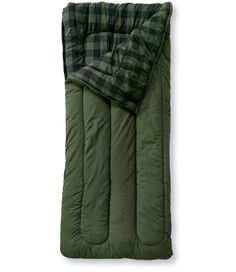 For when i move to seattle... Camp Sleeping Bag, Flannel-Lined Regular 40: Sleeping Bags   Free Shipping at L.L.Bean