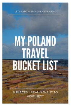 Poland is a beautiful country that many people don't really know about. From Tatra Mountains to the architecture of Krakow, there is so much that Poland has to offer. And there are just so many places that will make you want to go to Poland on your next vacation.