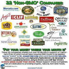 NO GMO's ‼