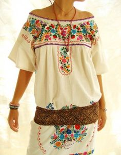 Mexican embroidery...