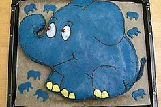 Elephant Birthday Cakes, Fun Cooking, Winnie The Pooh, Food And Drink, Kids Rugs, Children, Sweet Dreams, Nostalgia, Deserts