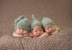 Ensaios fotográficos de gêmeos (e trigêmeos) que vão encher o seu dia de fofura