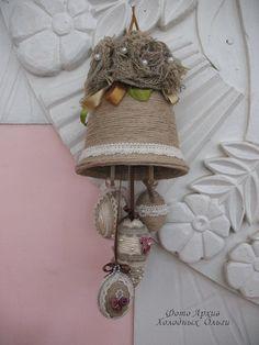 Колокольчик из джута