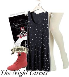 """the night circus"" by wishingadream ❤ liked on Polyvore"