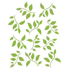 Leaf And Vine Border Stencil Free Printable Vine
