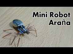 How to make a simple walking insect robot - YouTube