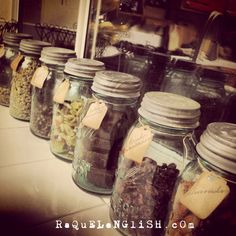 A #mermaids #pantry  I don't have a pantry in my #kitchen so i have to display my items in various places in my kitchen. #organize