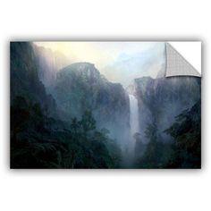 ArtWall Philip Straub Afternoon Light ArtAppealz Removable Wall Art, Size: 12 x 18, Silver