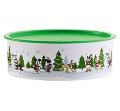 HI-HO HI-HO WITH TUPPERWARE WE GO: Save 40% on This Disney Mickey and Friends Holiday Celebration Cookie Canister - Only While Supply Lasts www.my.tupperware.com/lindacwilson