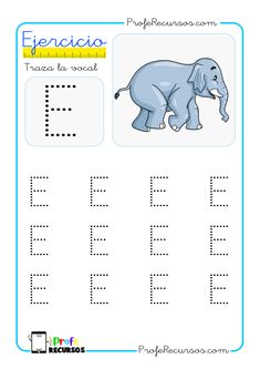 Alphabet Pictures, Letter E, Preschool Activities, Ideas Para, Montessori, Playroom, Homeschool, Writing, Sight Word Activities