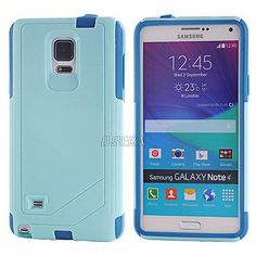 Rugged High Impact Commuter Series Hybrid Case Cover For Samsung Galaxy Note 4