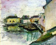 The Port of Palais, Belle Ile, 1896 Henri Matisse