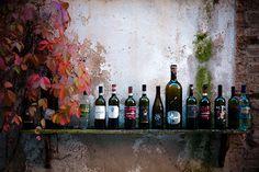 Italy Wine bottles