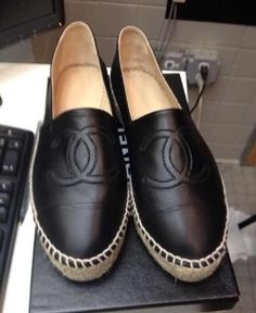 Cannot wait until I make enough money to drop hundreds on Chanel flats like these!! Hoping this style stays, relax and chill is completely my style!