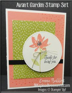 FREE Sale-A-Bration set with $50 purchase!  #stampinup, #inkspiredtreasures, created by Connie Babbert, www.inkspiredtreasures.com
