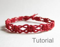 macrame bracelet pattern tutorial pdf jewelry instructions knot diy handmade knot easy step by step Christmas how to micro knotonlyknots navy blue Xmas knotted instant download beginner jewellery PLEASE NOTE this pattern is similar to another macrame bracelet pattern I have listed - but the two patterns have different clasps. The similar pattern is : https://www.etsy.com/listing/126668627/instant-download-pattern-rose-pink INSTANT DOWNLOAD MACRAME BRACELET PATTERN ...