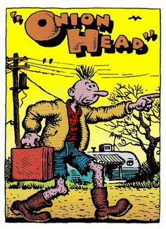 Onion Head by Robert Crumb (underground comics)